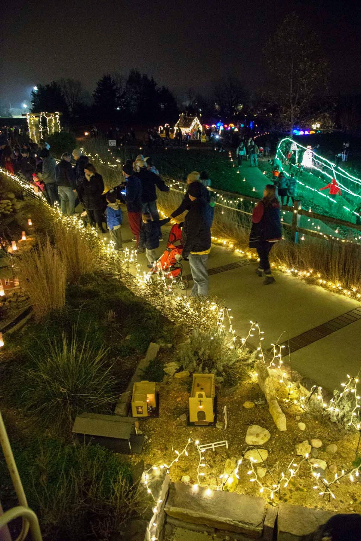 Luminary Walk | Get Outdoors Kansas