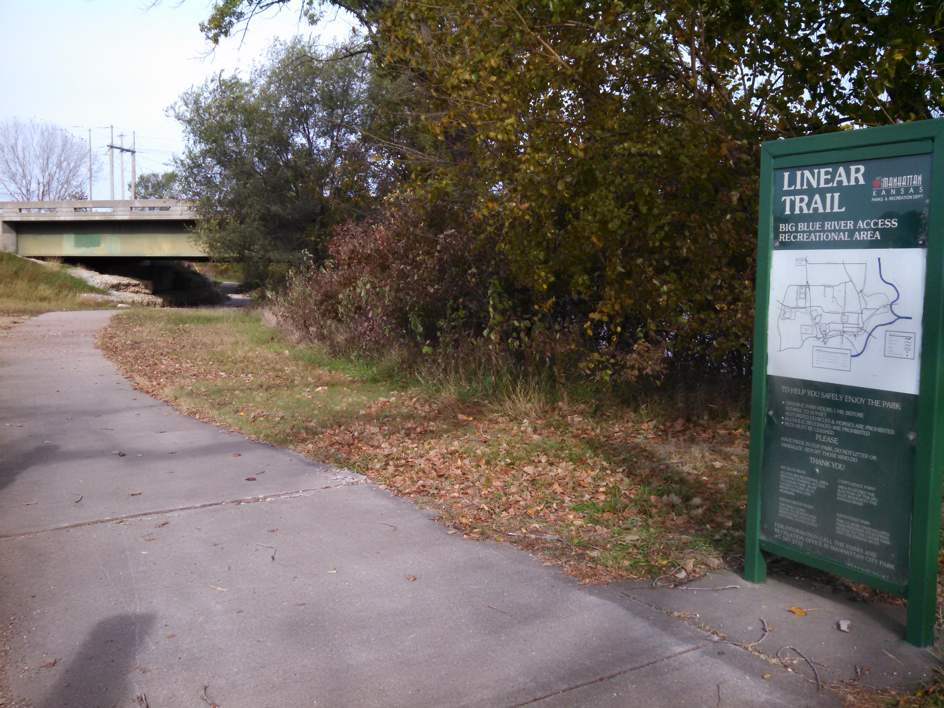 Manhattan Linear Trail   Get Outdoors Kansas